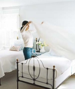 changing-bed sheets
