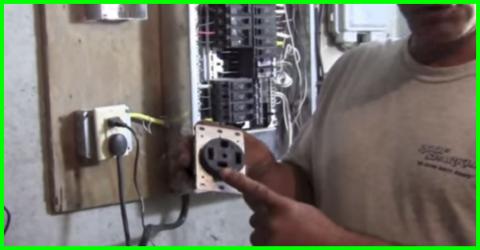 how to vire a 4 wire 220V outlet : wiring 220v plug - yogabreezes.com
