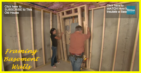 How To Frame A Basement Wall framing your basement walls is an easy diy project - gotta go do