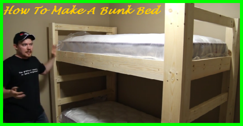 Lovely Simple And Easy Bunk Bed Construction