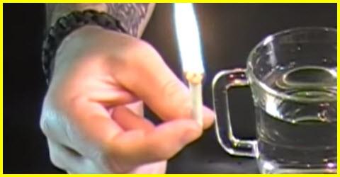 How to make waterproof fire starter sticks
