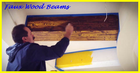 How To Make Faux Wood Beams