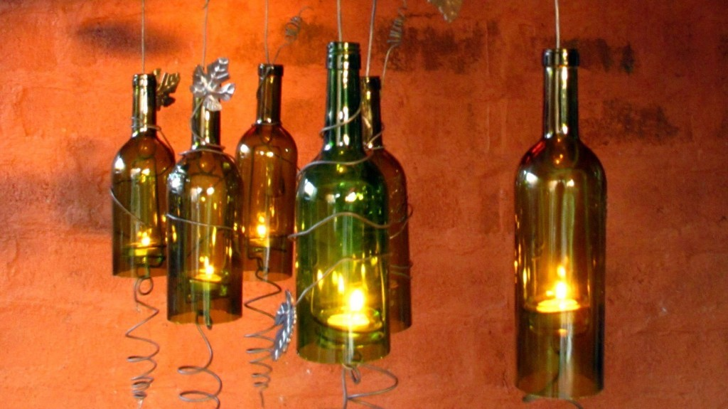 Make interesting things out of glass bottles gotta go do for Glasses made out of bottles