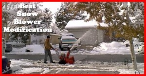 Here's the best snow blower modification that you could make