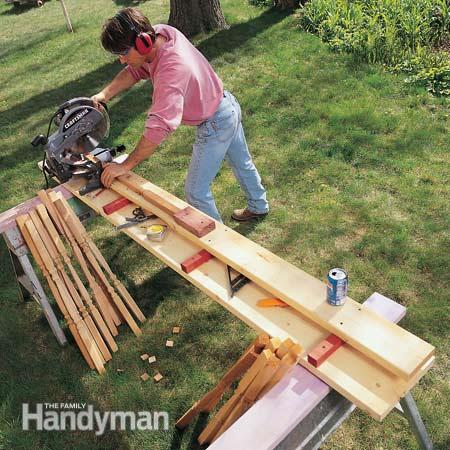 Here are some miter saw bench ideas for your jobsite setup