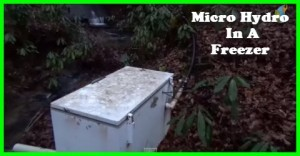 A great enclosure for your micro hydro generator