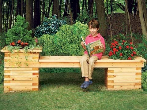 How To Build A Planter Box Bench The Beauty Of Window Boxes Gotta Go Do It Yourself