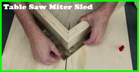 Peachy Tool Tips How To Build A Table Saw Miter Sled Gotta Go Download Free Architecture Designs Scobabritishbridgeorg