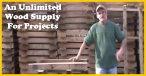 An unlimited wood supply for your projects
