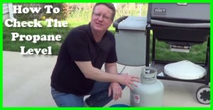 How to check the propane level in your propane tank