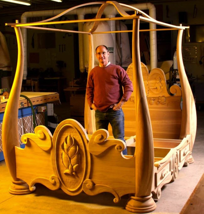 Beauty and The Beast Bed