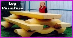 Great log furniture