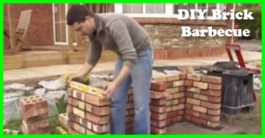 How To Build A DIY Brick Barbeque