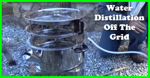 How to distill water off the grid