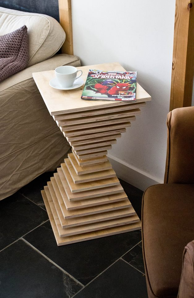 You Can Build A Scrap Plywood End Table Gotta Go Do It