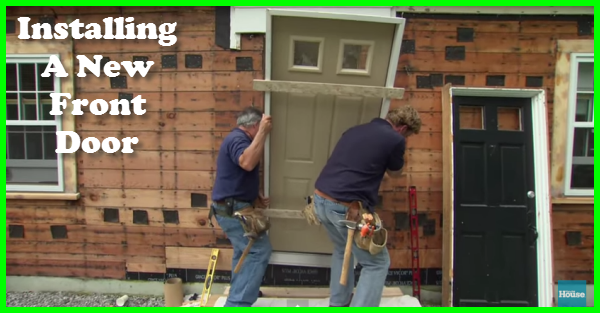 Installing A New Front Door Part 49