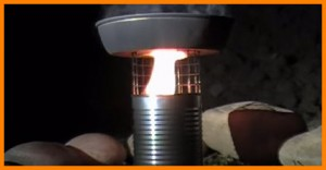 tin can gasifier stove
