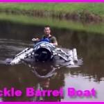 DIY Pickle Barrel Boat