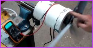 Make A Homemade Wind Turbine