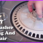 DIY dishwasher cleaning and repair