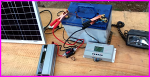 how to build a portable solar power supply