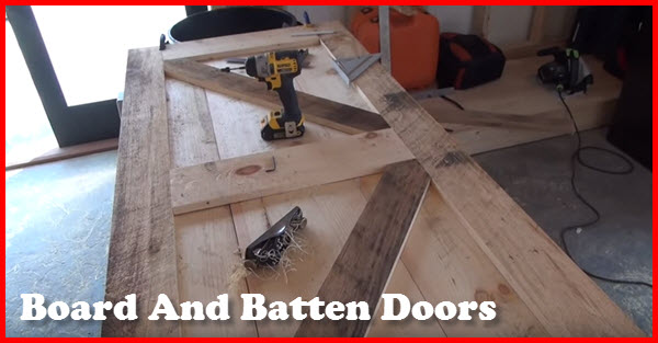 how to build board and batten doors & Building Board And Batten Doors - Gotta Go Do It Yourself | Gotta ... Pezcame.Com