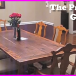 How To Build Your Own Dinning Table