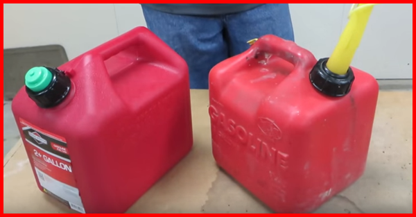 How To Fix A New Gas Can