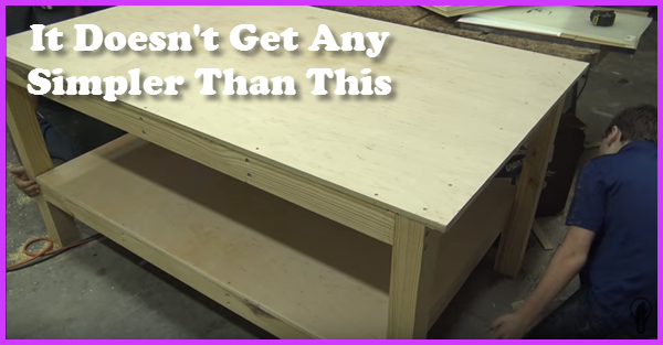 How To build a work bench - assembly table