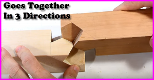 How to make this 3 directional joint