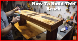 how to build a bench from reclaimed lumber