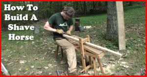 how to build a shave horse