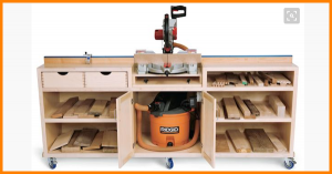 miter saw bench ideas