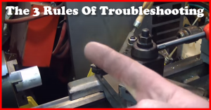 the 3 rules of troubleshooting