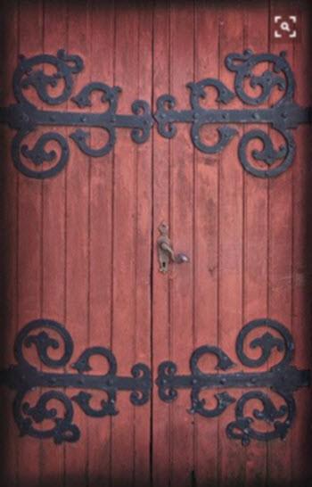 Barn Door Surface Decoration