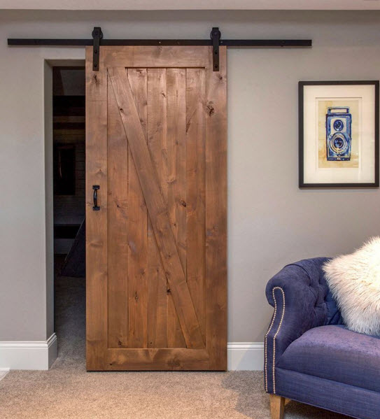 the standard barn door