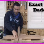 how to make an exact width dado jig