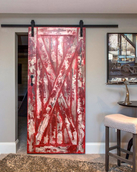 paint the barn door