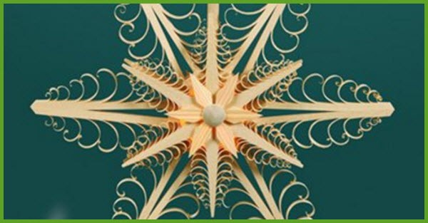 wooden Snow Flake 2