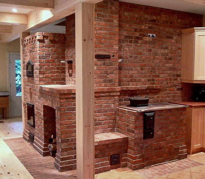 Masonry Kitchen