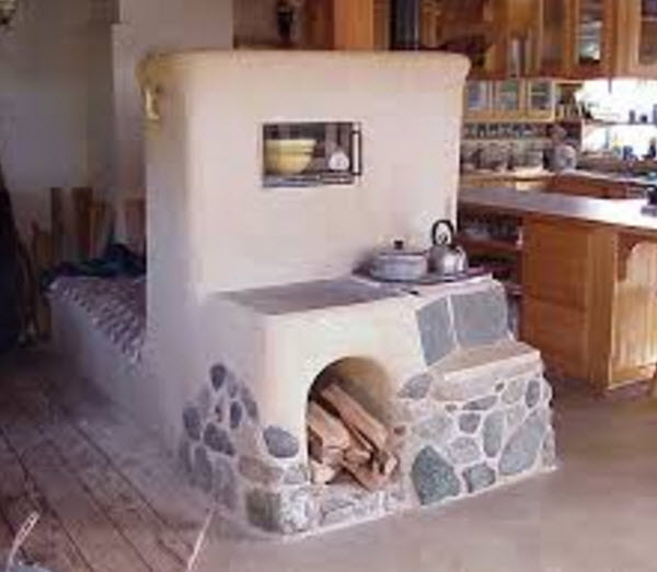 brick cook stove and oven