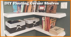 how to build floating corner shelves 2