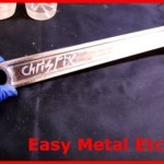 How To Do Metal Etching